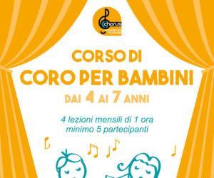 NOVITA'!!! Aperte le iscrizioni al corso di coro per bambini!