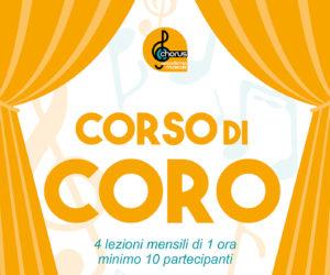 NUOVO CORSO DI CORO !!! Aperte le iscrizioni 2018/2019