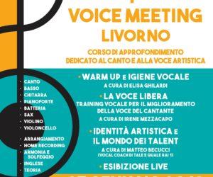 1° VOICE MEETING LIVORNO – APERTE LE ISCRIZIONI